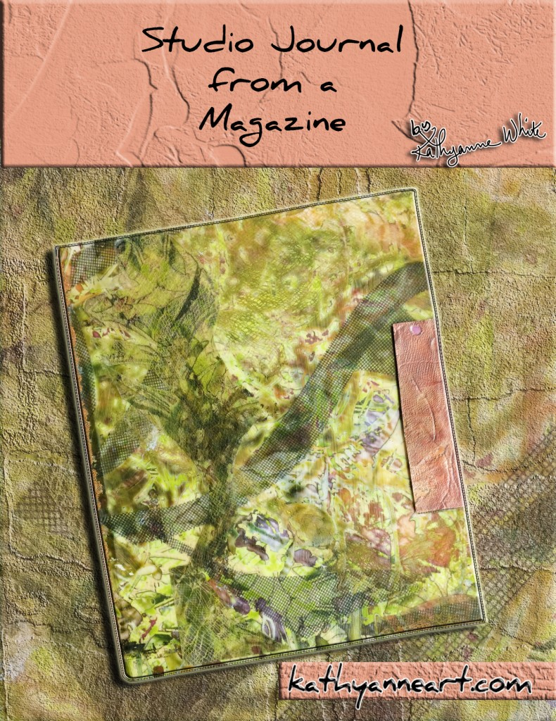 studio journal from a magazine cover