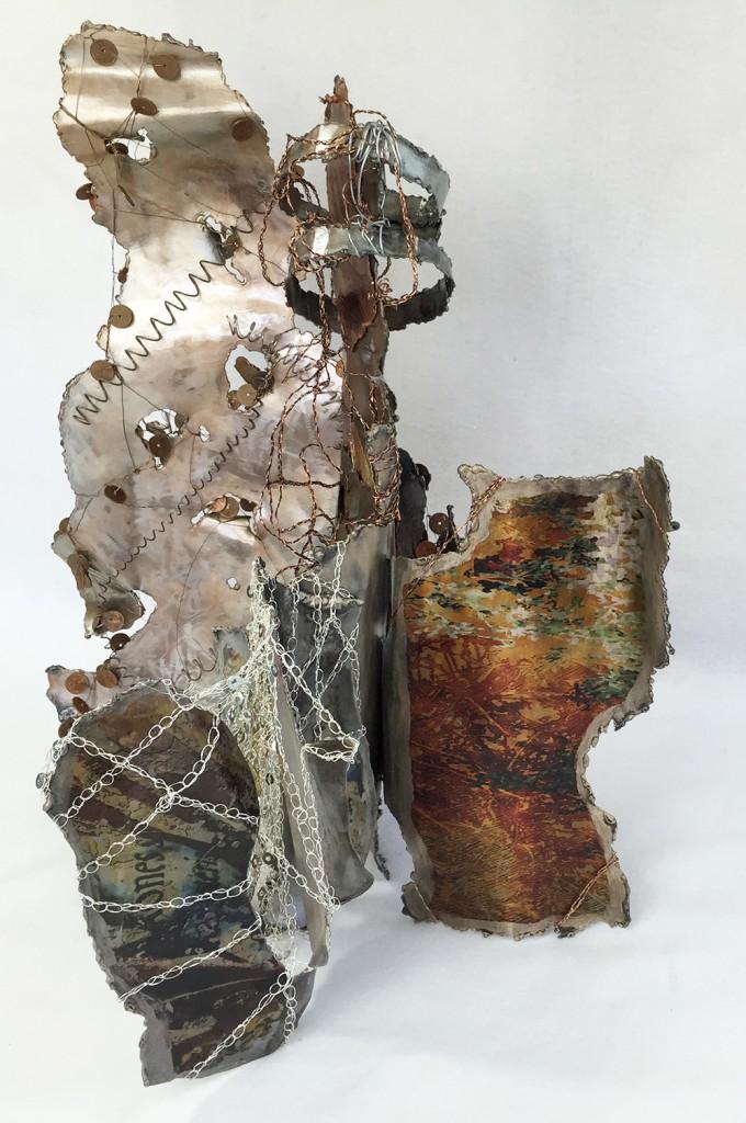 Steel Sculpture-Digital Image Transfers